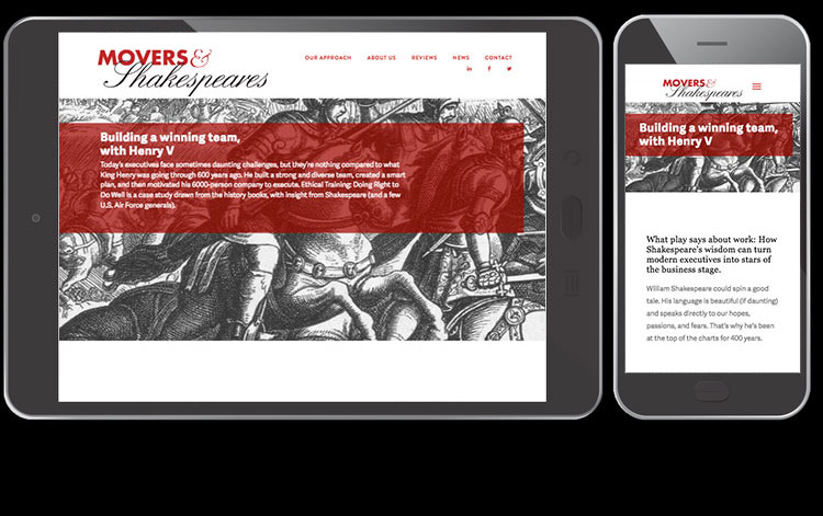 Kissane Viola Design Websites Movers And Shakespeare S