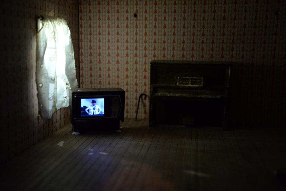 Utopia, '77 (Joseph Beuys TV Broadcast, My Sister's Dollhouse), 2017