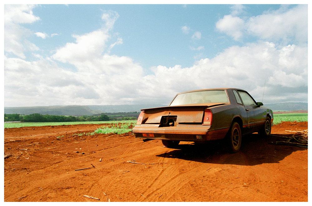 Car in Kuaia, 2003