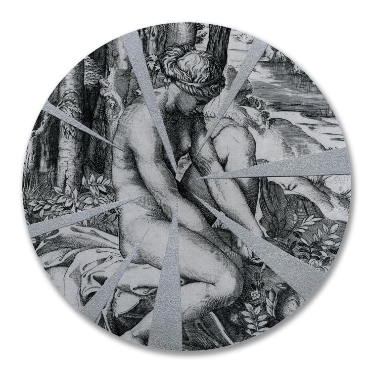 Circular, Silver Collage, 2011