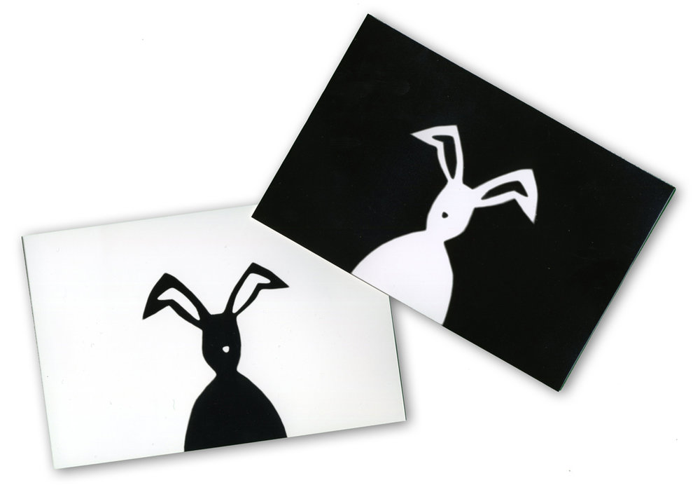 Happy Easter Photogram Postcards, 2012