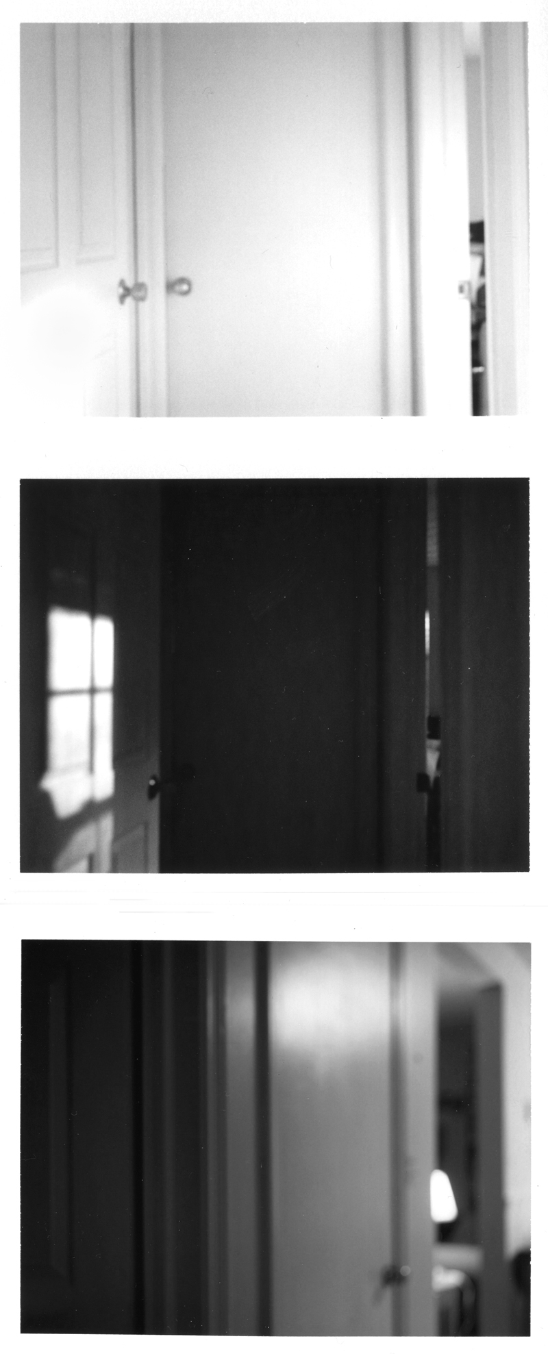 House, 2009 (3 Polaroids)