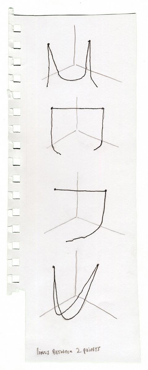 String Sculpture Sketches, undated