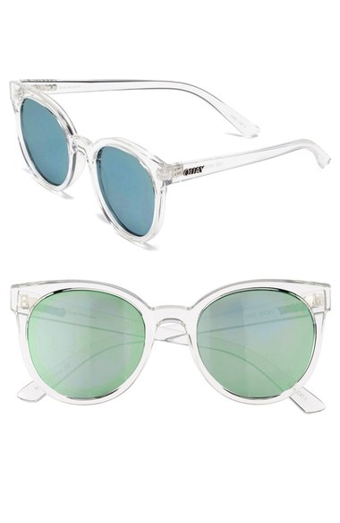 "Quay Austrailia ""Like Wow 55mm Round Sunglasses"""