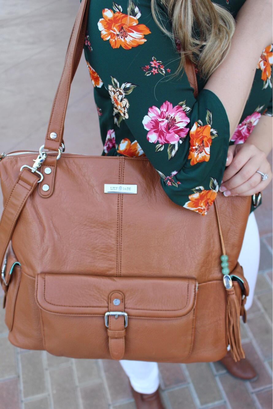 Diaper Bag || Lily Jade Co
