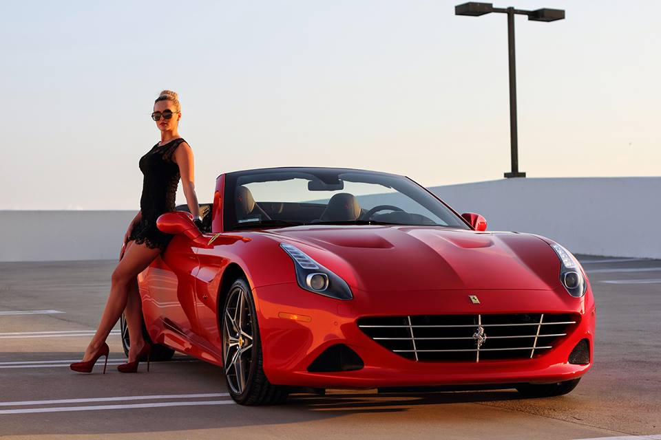 Exotic car rentals los angeles california