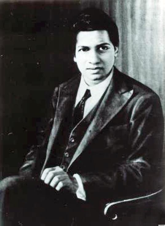 Image: Srinivasa Ramanujan, Public Domain