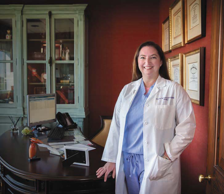 Dr. Cheree Schwartzenburg, LSU biochemistry graduate and OBGYN with Schwartzenburg Lafranca & Guidry