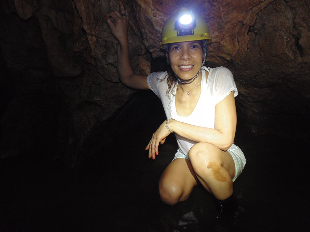 Another photo from Persaud's exploration of the Venado Caves.
