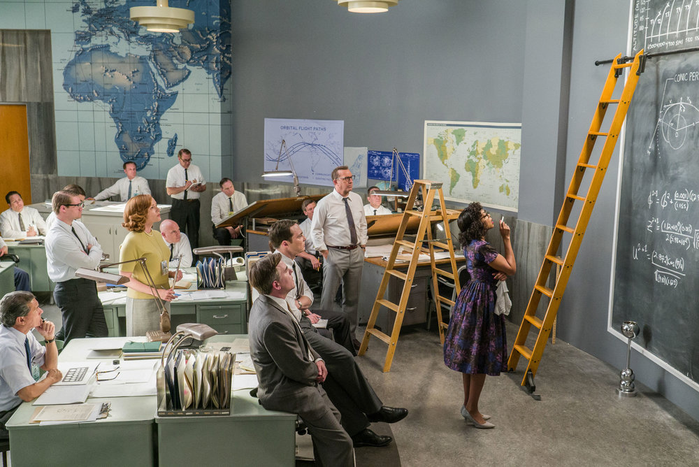 Katherine G. Johnson (played by Taraji P. Henson in Hidden Figures) made a key contribution  to the effort to send John Glenn into orbit. Photo Credit: Hopper Stone.