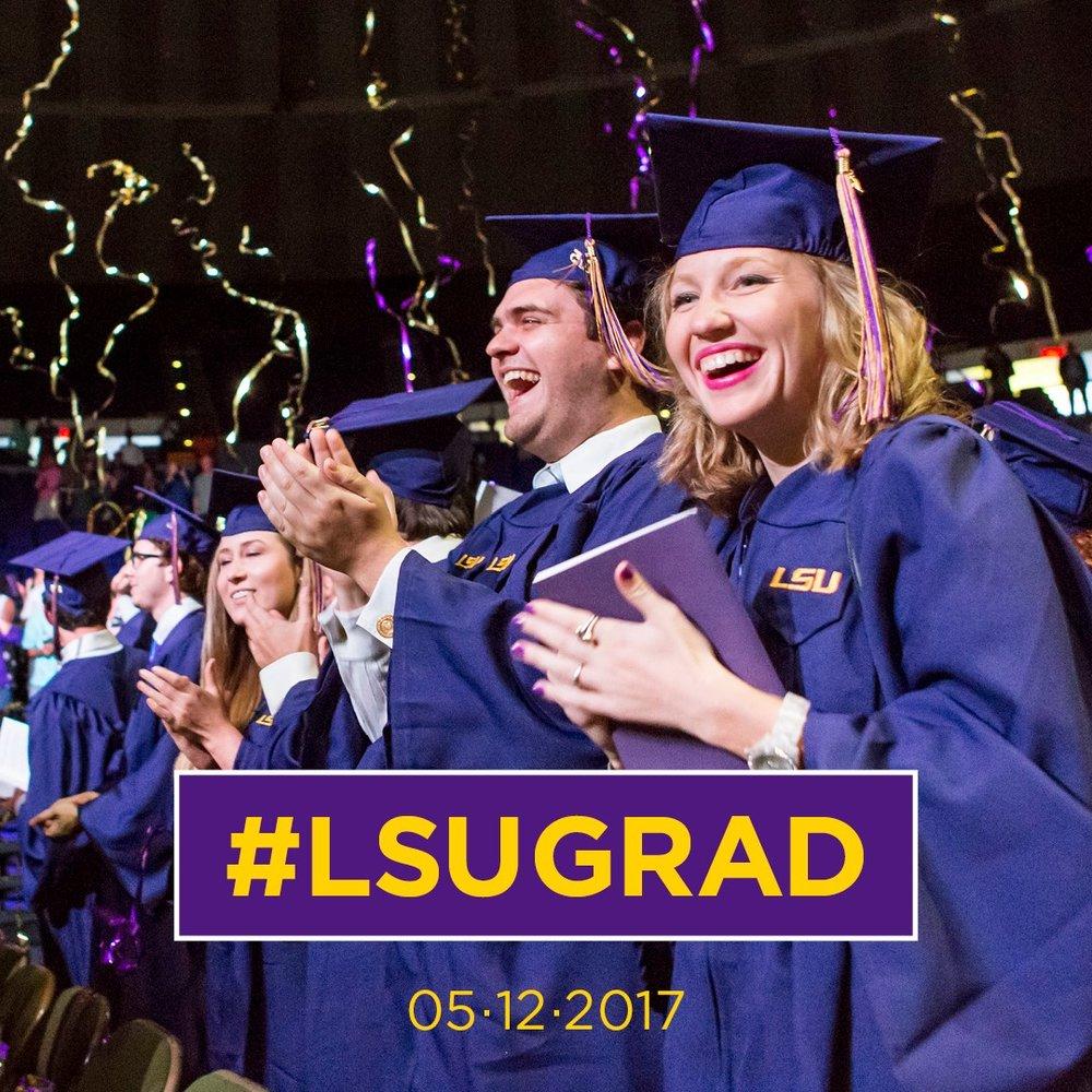 Congrats LSU 2017 Grads!