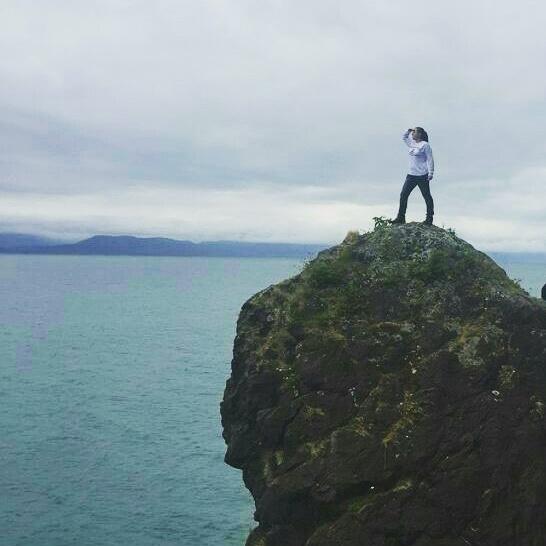 Sydney Clark in Alaska.