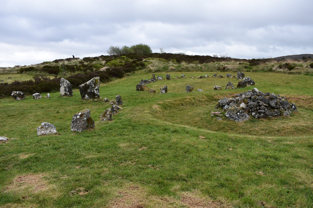 Stone Circles at Beaghmore Stone Circles.  Photo Credit: Nicki Button