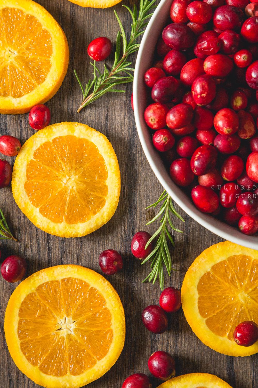 Cultured Guru fresh fruit.