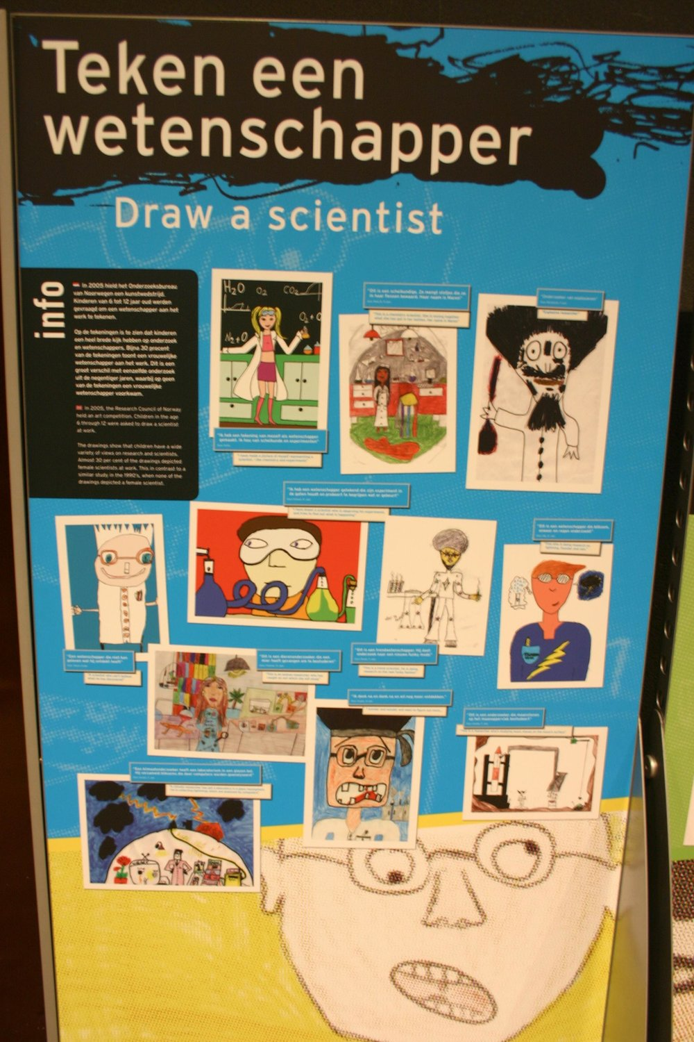 Draw-a-scientist test drawings. Credit:  Ryan Somma , Flickr.com