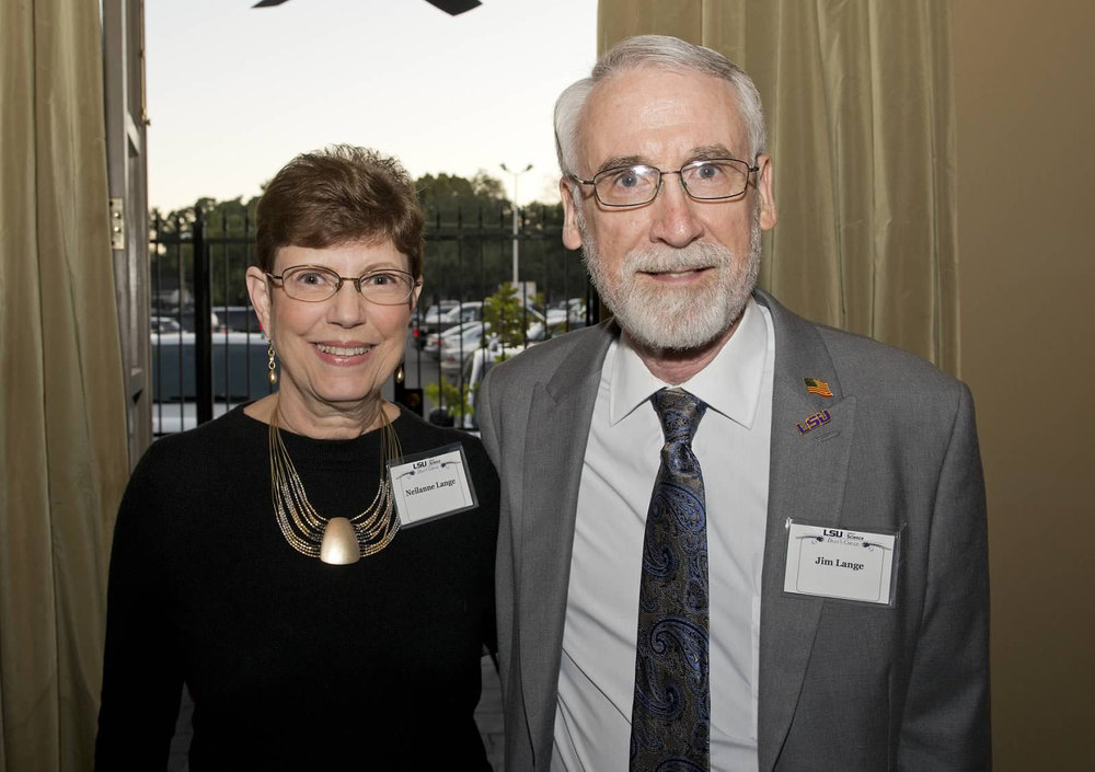 Jim and his wife Neilanne at the LSU College of Science Dean's Circle Dinner