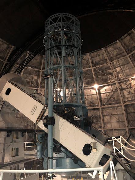 CHARA Telescope. Credit: Ian Sager.