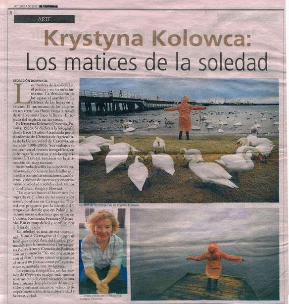 PUBLICATION IN COLUMBIAN NEWSPAPER -