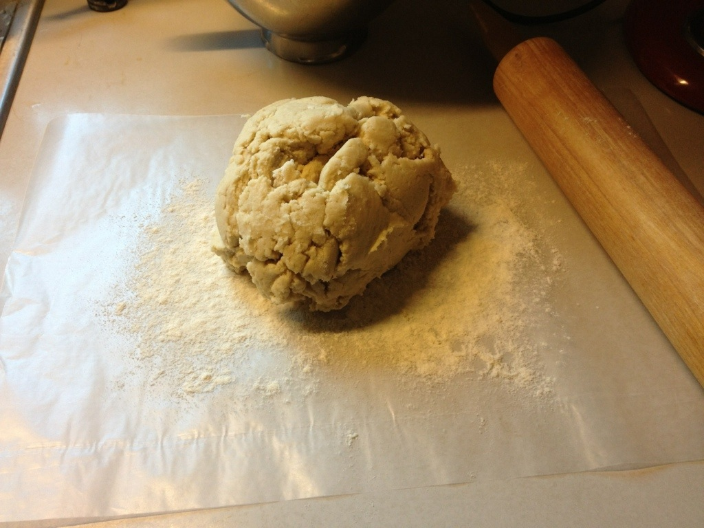 Ball of GF Cinnamon Roll Dough