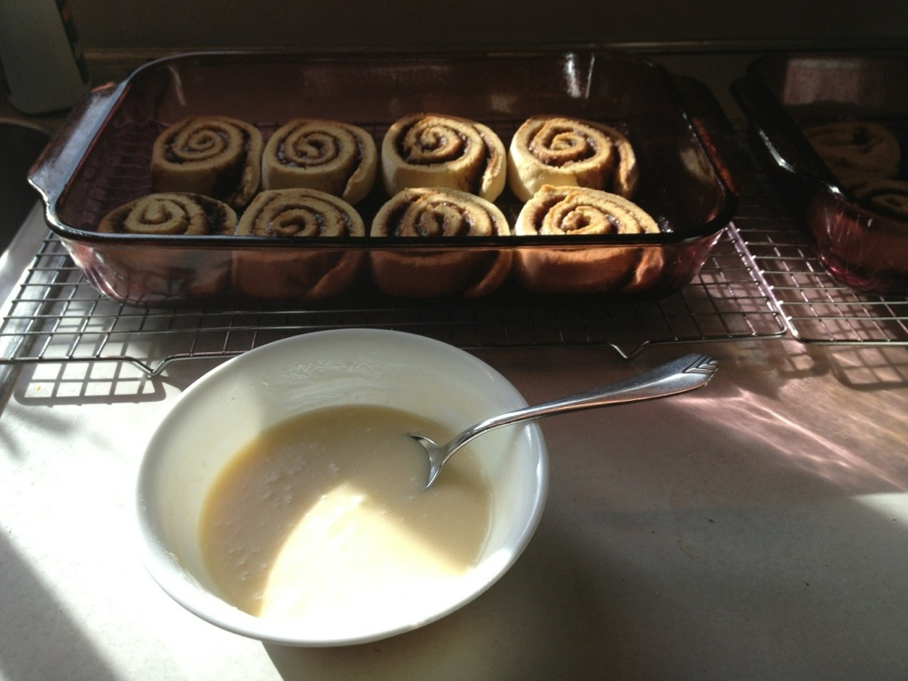 Icing for GF Cinnamon Rolls