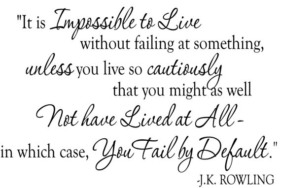 Impossible to Live quote JK Rowling