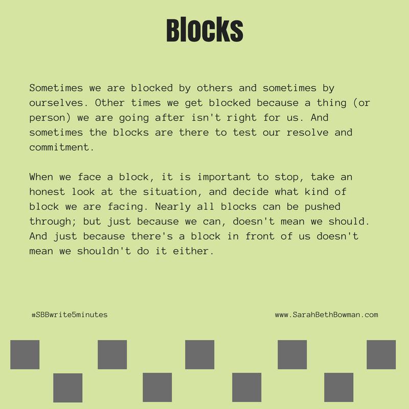 Day 9 : block