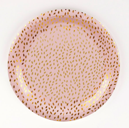 My Little Day Golden Seeds Blush Pink Dinner Plates [pack of 8]  sc 1 st  City Kitchen Sacramento & My Little Day Golden Seeds Blush Pink Dinner Plates [pack of 8 ...