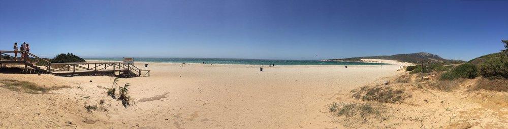 Valdevaqueros beach and dunes