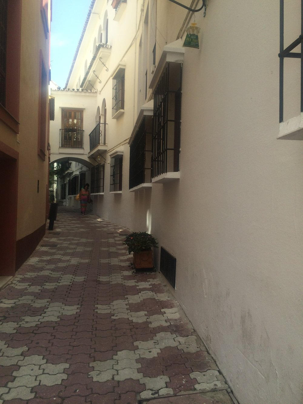 the old part of Marbella