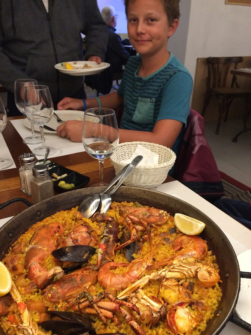 did I mention the paella!