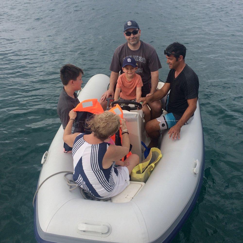 a new dinghy captain