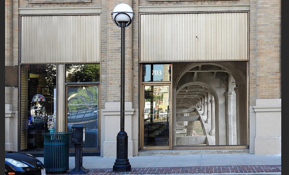 Location 6: Plaza Artist Materials & Framing,703 Main Street