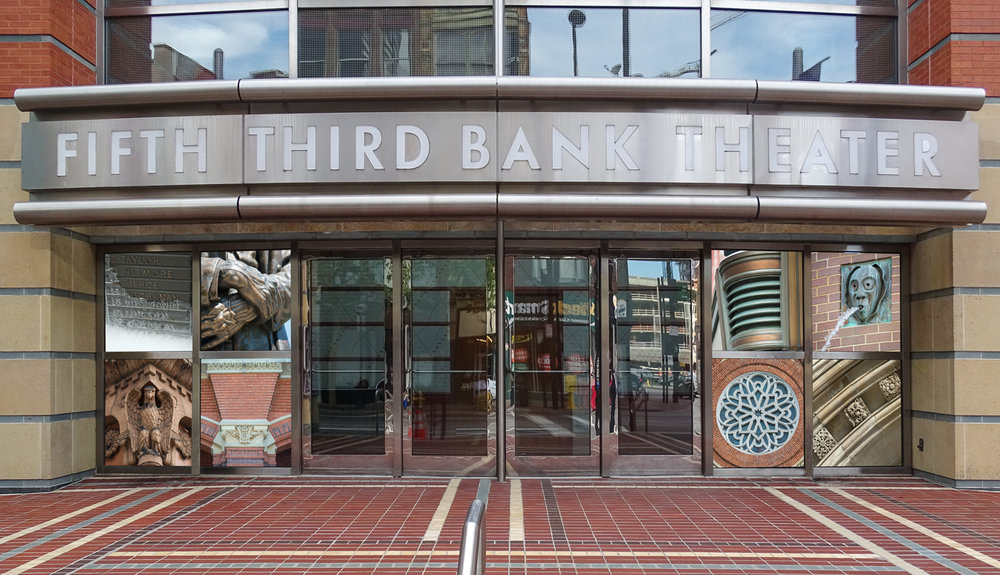 Location 5: The Aronoff Center's Fifth Third Bank Theater, 659 Main Street