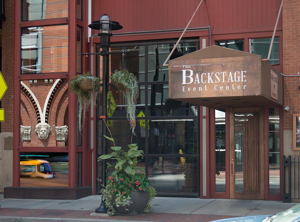 Location 8: The Backstage Event Center, 725 Walnut Street
