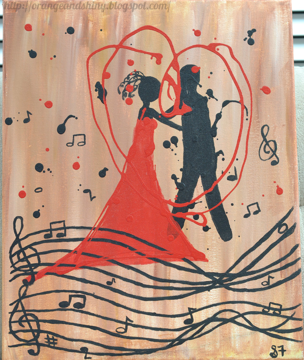 "Painting 5:  ""Love Song"""