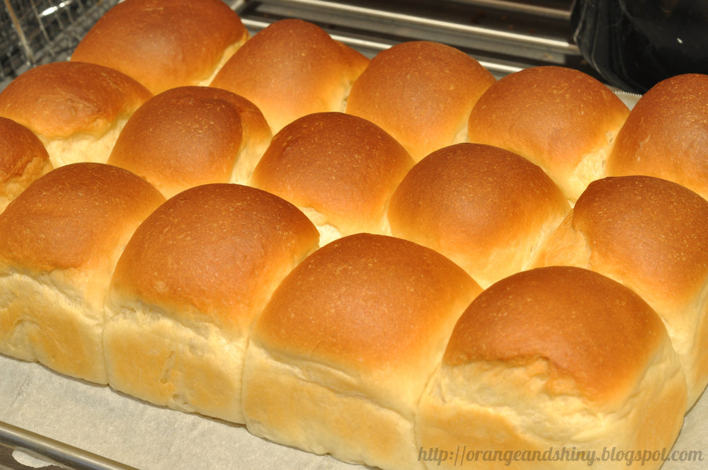 Jeff's rolls fresh out of the oven