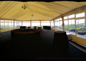 Olympic Terrace tent at the Woodmark Hotel right off Lake Washington. So pretty!