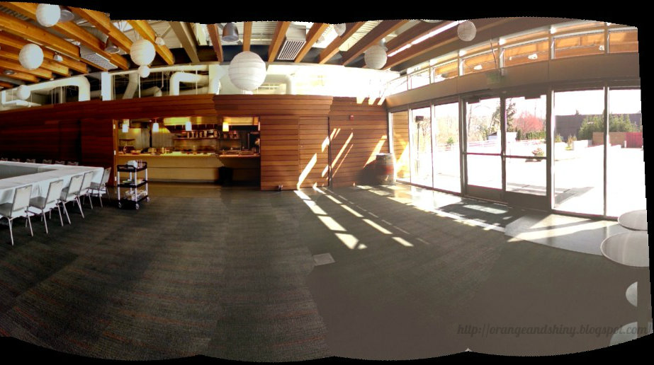 Photosynthed pic of the Tasting Room at Novelty Hill - Januik winery. Love the modern feel of this place.