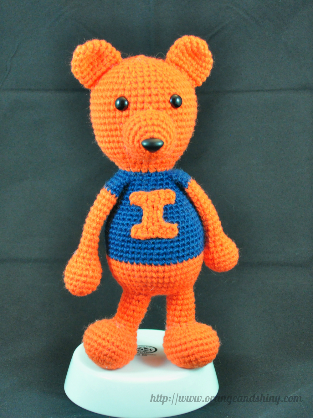 Illini Teddy Bear