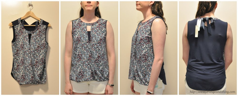 41 HAWTHORN Clearwater Mixed Material Blouse Collage.jpg