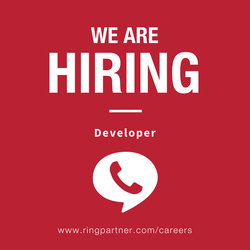 RingPartner is hiring a Developer!