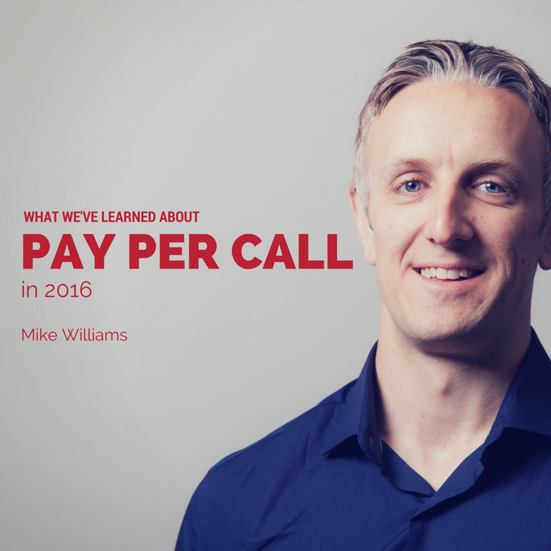 What RingPartner has learned about Pay Per Call in 2016