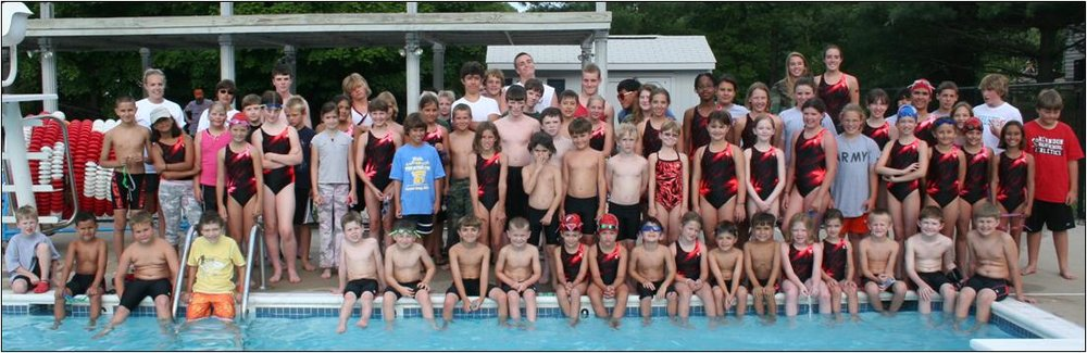 2009 Kingston Chase Fighters Swim Team