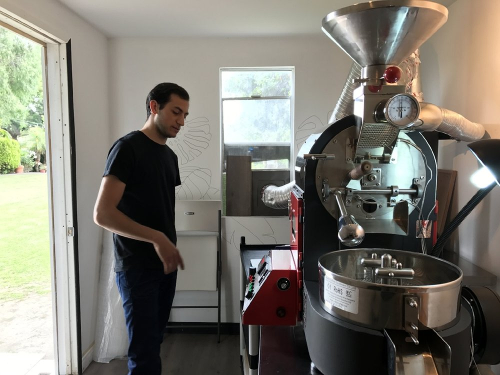 We got to sit down with Nicholas Rodriguez of Steelhead Coffee to get to know him.  Previously Nicholas was at Paramount Coffee Project in Los Angeles and a ton of other local coffee shops.