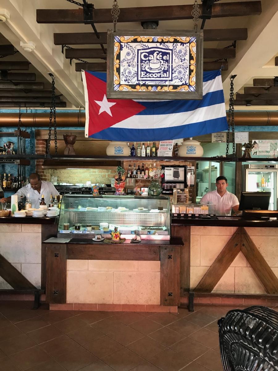 Cafe Escorial Havana, Cuba
