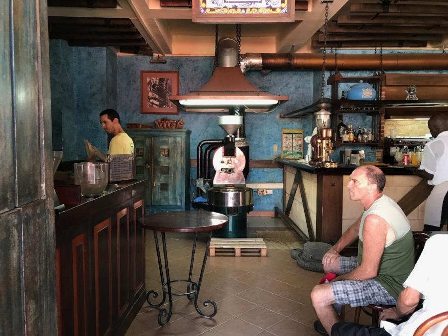 Cafe Escorial Havana Cuba 2