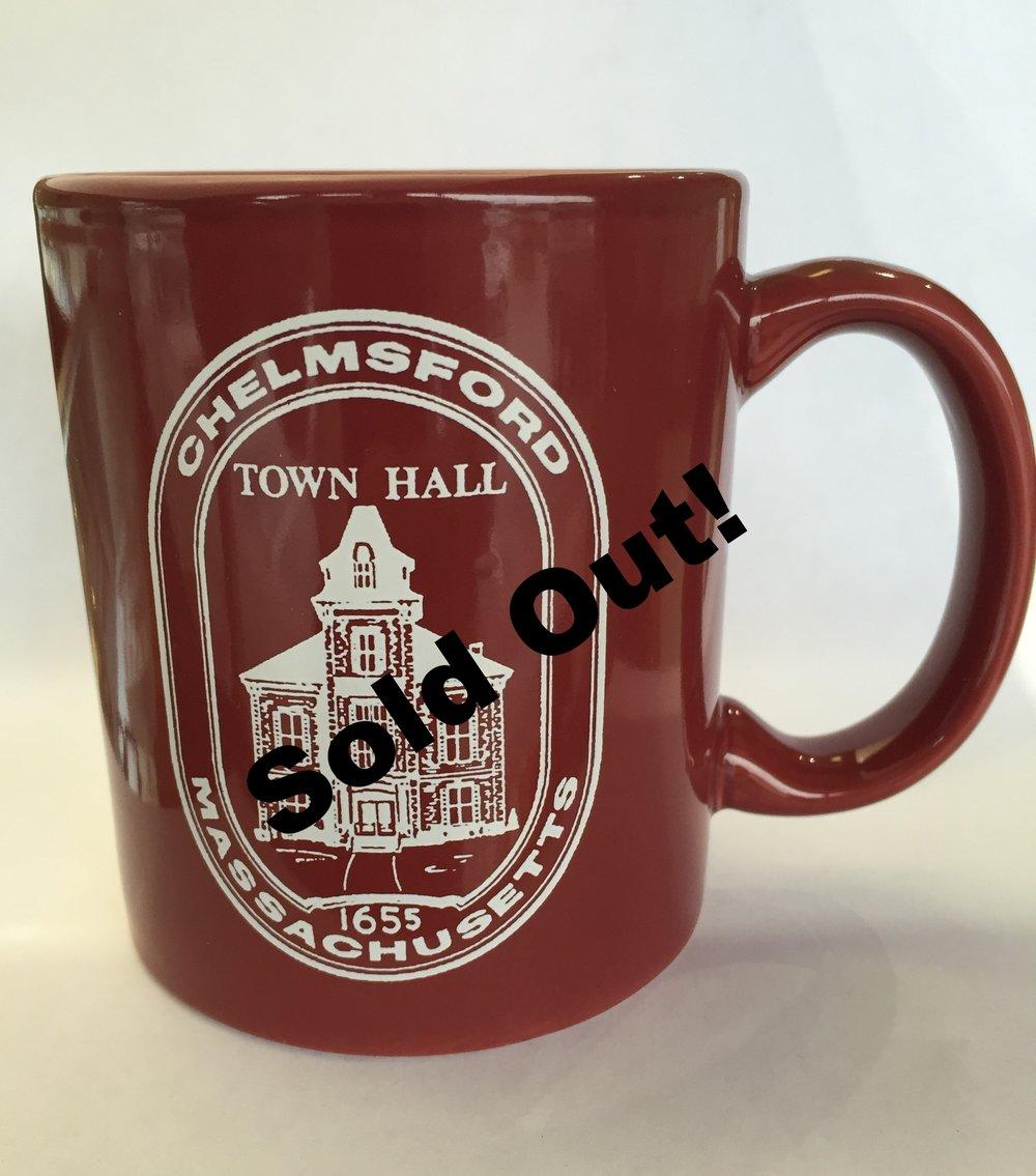 Maroon Chelmsford Mug $10