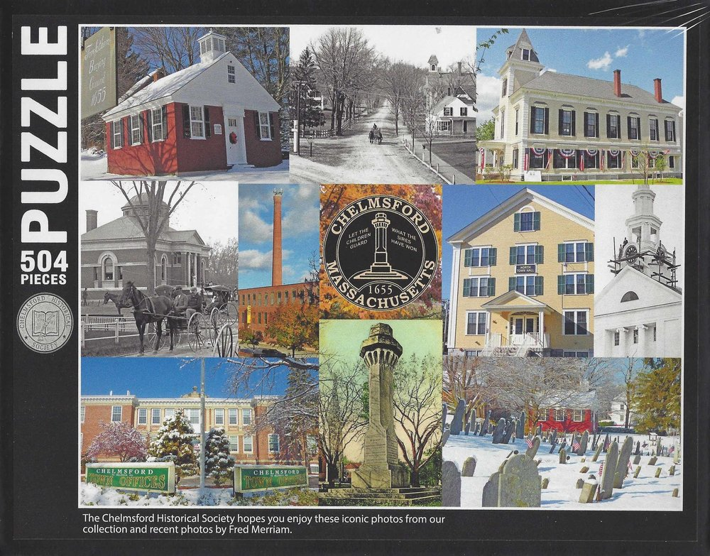 New! Chelmsford Puzzle $20