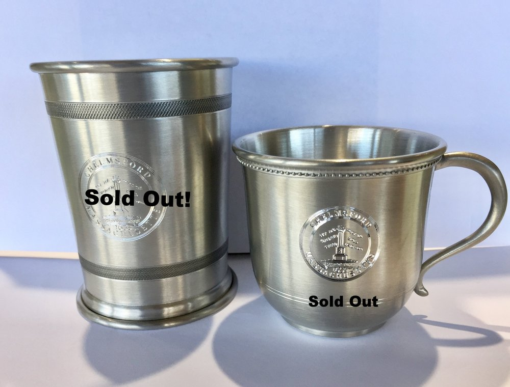 Pewter Cup $30 -Pewter Baby Cup $20 (only one left of each)