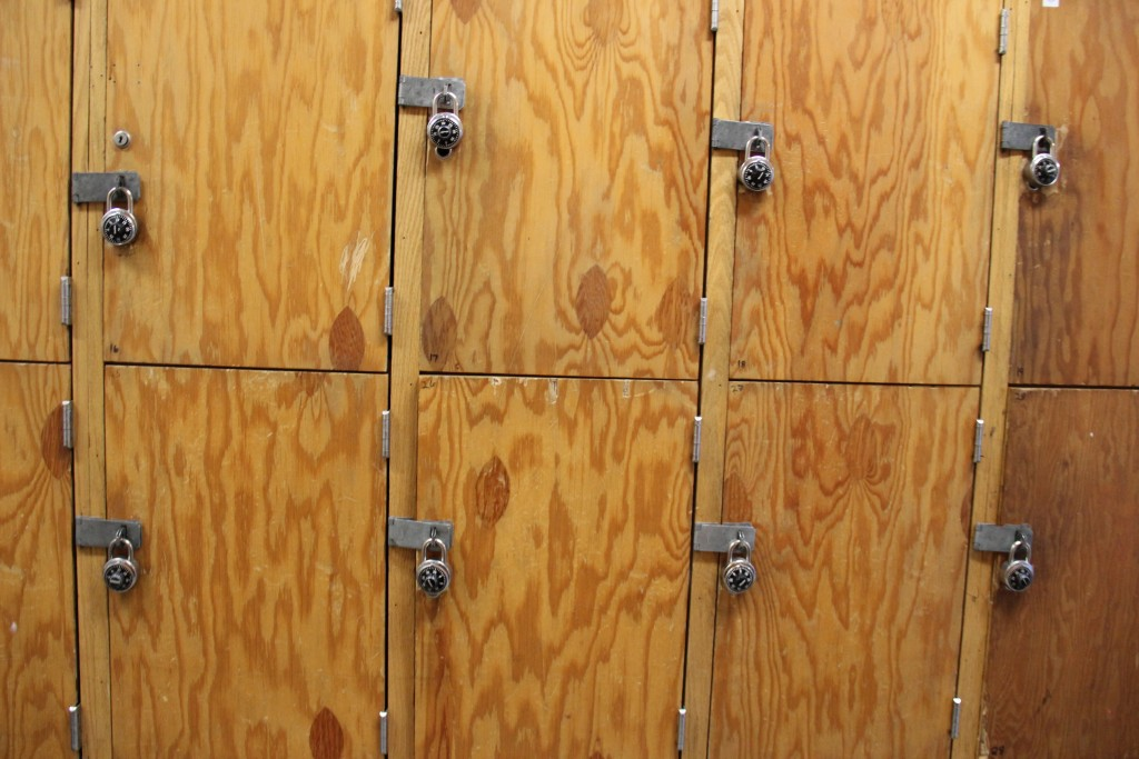 Many residents will get lockers to store their personal belongings in. This helps prevent theft and allows them room for privacy.
